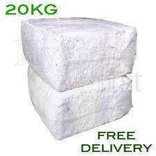 20Kg Bag Of Rags White Mix Wiper Industrial Engineers Garage Rag Cotton Wiper