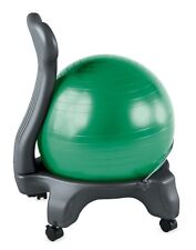 Gaiam Balance Ball Chair Body Balance Gym Exercise Fitness Workout Office GREEN