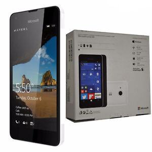 BNIB Microsoft Lumia 550 RM-1127 Single-SIM White 8GB Factory Unlocked 4G OEM