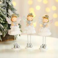 Lovely Angel Doll Desktop Decoration Christmas Princess Ornaments Home Deco X3M6