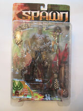 MOC 1999 MCFARLANE TOYS SERIES 14 SPAWN THE DARK AGES BLACK HEART ACTION FIGURE
