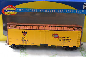 HO-Athearn 71324 American Refrigerator Transit 40' Steel Reefer ART 31649