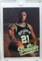 1997 97-98 Fleer Ultra Tim Duncan Rookie RC #131, San Antonio Spurs