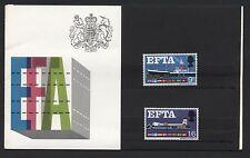 1967 EFTA PRESENTATION PACK. SG 715-6