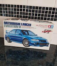 "Tamiya Model Sports Car Kit ""Mitsubishi Lancer Evolution VI"" 1:24  Complete"