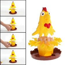 Chicken Don't Drop Egg Game Kid Children Exciting Fun Pull Out Feathers Toy Gift