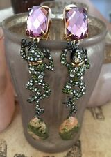 Alexis Bittar Frog Post Earrings