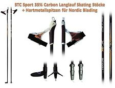 Carbon Langlauf Stock Skistöcke Skating Roller Skike  Sport 150, 155, 160 cm