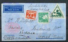 MAC-ROBERTSONRACE PH-AJU NEDERLAND-AUSTRALIË 20.OCT.1934 -TOORAK, Vic.     Dr472
