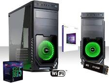 Pc Desktop I5 9600k,Ssd m2 512gB,Ram 16GB DDR4 2666Mhz,Windows 10 Pro,saturn