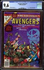 Avengers Annual # 7 CGC 9.6 White (Marvel, 1977) Thanos and Warlock appearances