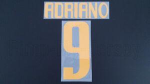 ADRIANO #9 Parma Home 2003-2004 Name Set