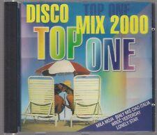 TOP ONE - DISCO MIX 2000 CD OOP POLISH DANCE JAMROSE KASIA LESING