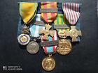 PL) Placard de médailles militaires françaises INDO Algérie french medal