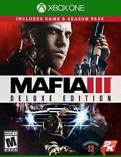 NEW Mafia III 3: Deluxe Edition (Microsoft Xbox One, 2016)