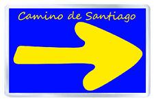 CAMINO DE SANTIAGO FLECHA FRIDGE MAGNET SOUVENIR IMAN NEVERA