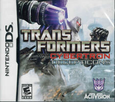 Transformers: War for Cybertron - Decepticons NDS New Nintendo DS
