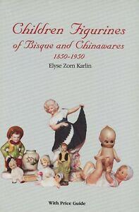 Children Bisque China Figurines 1850-1950 – Dolls Kewpies Etc. / Book + Values