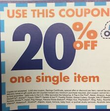 Bed Bath and Beyond 20% off - use Online or In Store exp.1-1-2018