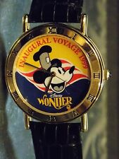 Mens Disney Parks Artist Vintage Mickey Mouse Watch (The Wonder)Cruise-(1999)New