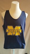 very rare vtg Starter Michigan Wolverines Two Face Top Size: Xl Very Good Cond