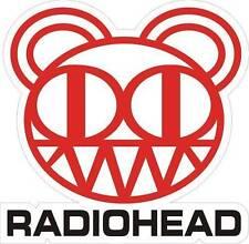 "Radiohead Bear car bumper sticker 4"" x 5"""