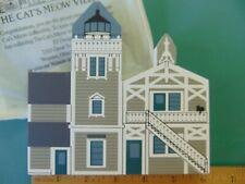 Fj Designs The Cat's Meow Village 1994 West Coast Lighthouse -East Brother Light