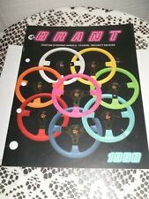 1990 GRANT CUSTOM STEERING WHEELS COVERS SECURITY DEVICES CATALOG