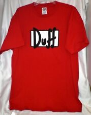 DUFF BEER SIMPSONS  HOMER T-SHIRT EXTRA-LARGE  XL NEW