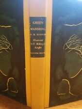 GREEN MANSIONS A ROMANCE OF THE TROPICAL FOREST BY W.H. HUDSON 1944