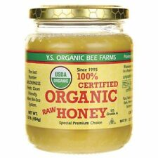 YS Eco Bee Farms 100% Certified Organic Raw Honey - 16 oz Full Health Benefits