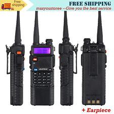 BaoFeng Two Way Radio Walkie Talkie UV-5R Dual Band UHF/VHF 3800mAh Battery VOX