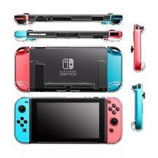 Passend für Nintendo Switch NS NX Case Hardcase Cover Schutzhülle Transparent