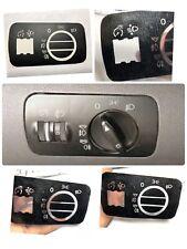 Interruptor Luces AUDI A3 8L,SEAT LEON MK1,S3 8L ,AUDI A6 C, S6 C5,RS6 Pegatinas