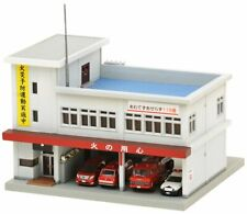 Tomytec Building 082-2 Fire Station B2 1/150 N scale