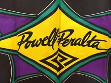 Vintage Powell Peralta Purple/Green/Yellow Wall Poster Signage Skateboard Decor