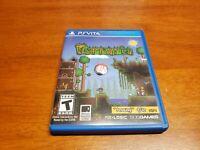 Terraria (Sony PlayStation Vita, 2014) PS Vita TESTED Fast Shipping
