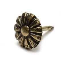 """Floral Head Decorative Nail Tack &/16"""" Head 1/2"""" Post Upholstery  1000 Tacks."""
