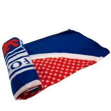 Official RANGERS Football Club FC Fleece BLANKET / Throw- Latest Bullseye Design