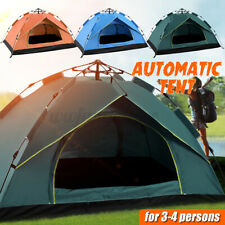 Camping Tent Waterproof Automatic Quick Open Camping Tent Outdoor 3-4 Persons AU