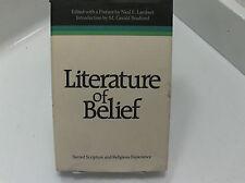 LITERATURE OF BELIEF Sacred Scripture- Torah, Vedanta, Religious Studies Mormon