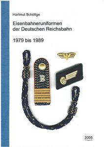 Eisenbahner Uniform Reichsbahn 1979 bis 1989