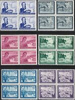 SALE Stamp Germany Mi 888-93 Sc B272-7 Block 1944 WWII 3rd Reich Postal Set MNH