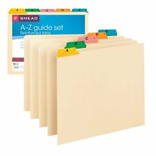Smead Guides File Organizer 1/5-Cut Tab Letter Size 25 Per Set Office Supplies