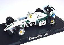 WILLIAMS FW08C KEKE ROSBERG 1983 1:43 MODEL LEGENDS FORMULA 1 NEW F109