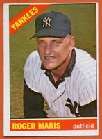 1966 Topps #365 Roger Maris EX-EX+ New York Yankees FREE SHIPPING