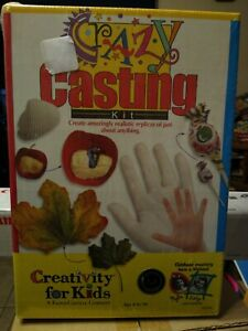 Creativity For Kids Crazy Casting Kit     NEW FACTORY SEALED