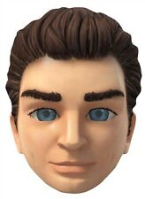 Scott Tracy from Thunderbirds are Go Single Card Party Fun Face Mask - Puppet