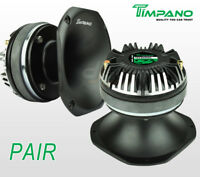 "PAIR Timpano TPT-DH2000 2"" Compression Driver Slim Aluminum Horn DH2000 400W"