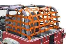 Fits Jeep Wrangler LJ TJ Orange  Cargo Net   Made in USA J0047020